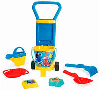 Детская тележка с набором для песка В поисках Дори, Wader (78270)