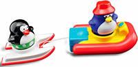 Игрушка для ванны Пингвинчики на водных лыжах, Water Fun (23140)