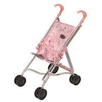 Коляска для куклы Baby Born (светло-розовая складная), Zapf (822302)