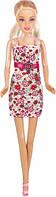 А-Стиль, Набор с куклой 28 см, блондинка в цветочном платье, Ася (35051)
