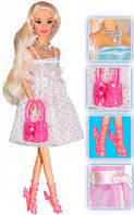 Блестящий стиль, набор с куклой 28 см, блондинка, Ася (35065)