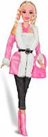Городской стиль, набор с куклой 28 см., блондинка с косичками, Ася (35069)