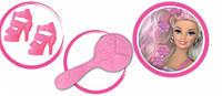 Модные прически, набор с куклой 28 см, блондинка в розовом, Ася (35064)