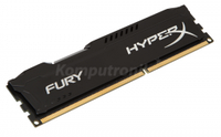 Память DIMM (desktop), HyperX Fury Black 8GB [2x4GB 1600MHz DDR3 CL10 DIMM]