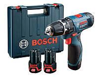 Аккумуляторная дрель-шуруповёрт Bosch GSB 1080-2-LI (0601868122) (Кейс)