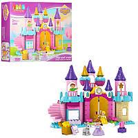 Конструктор JDLT 5280 замок принцессы, фигурки, 113дет, в кор-ке, 60-45-12,5см (BOC104358)