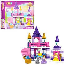 Конструктор JDLT 5281 замок принцессы, фигурки, 96дет, в кор-ке, 49,5-38,5-12,5см (BOC104359)