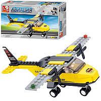 Конструктор SLUBAN M38-B0360 авиация, самолет, фигурка,110 дет, в кор-ке, 23,5-14,5-4,5см (BOC071199)