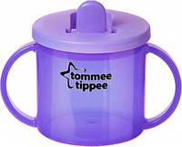 Первая чашка с носиком, фиолетовая, 190 мл., Tommee Tippee (43111010-5)