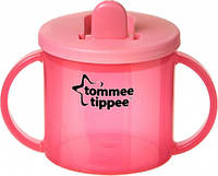 Первая чашка с носиком, красная, 190 мл., Tommee Tippee (43111010-3)