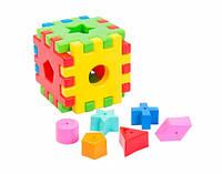Волшебный куб-сортер - развивающая игрушка, 12 элементов,  (39176)