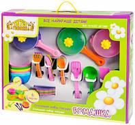Набор игрушечной посуды столовый Ромашка (43 эл.), Тигрес (39149)