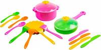 Ромашка, набор столовой посуды, 20 предметов, Тигрес (39147)