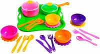 Ромашка, набор столовой посуды, 25 предметов, Тигрес (39148)