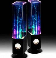 Необычные колонки фонтан «water dancing speakers»