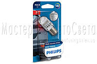 Лампа светодиодная Philips P21 RED 12V, 1 шт / блистер 12839REDB1