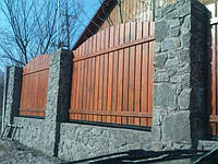 Забор деревянный, Киев, Киевская обл.