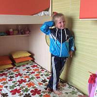 Детский Спортивный костюм унисекс плащевка на сетке Размеры 32- 38