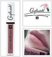 Жидкая матовая помада для губ Relouis Nude Matte Complimenti № 10
