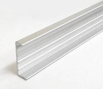 С 16 - профиль торцовочный алюминиевый - С планка (кромка) , фото 2
