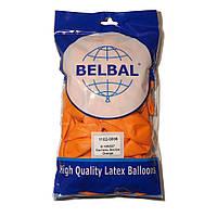 """Оранжевый 12""""(30 см) пастель  Belbal (упаковка 50 шт)"""
