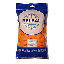 """Воздушные шары Belbal пастель 12""""(30 см) оранжевый 50 шт"""