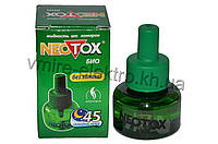 Жидкость от комаров Neotox зеленый без запаха 45 ночей