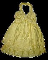Летний сарафан для девочки лимонный 14-16 лет
