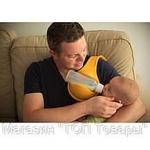 Держатель детской бутылочки при кормлении Free Hand Bottle Holder, фото 3