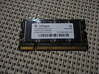 Оперативная память б.у  для ноутбука ddr 512мб
