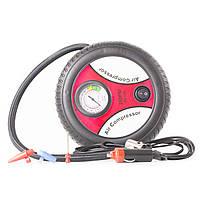 Автокомпрессор 260 PSI для шин камер веслоипеда электро насос давление воздуха камеры нипель от прикуривателя