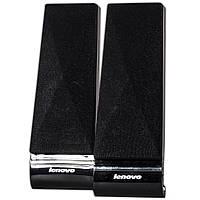 Колонки LENOVO L1520 Черные компьютерные с чистым звучанием и глубоким басом питание от USB джек 3,5 музыка