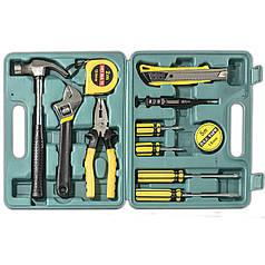 ✸Профессиональный набор инструментов Lesko YL-8012 набор ключей 12 в 1 ключи+отвертки молоток плоскогубцы