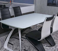 Стол обеденный Nicolas LONDON NEW белый MD000003
