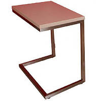 Стол приставной-консоль Nicolas YORK орех MD000024