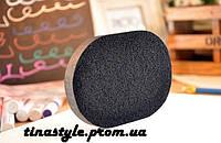Спонж powder Puff бьюти блендер из натурального бамбука черный для макияжа губка Качество