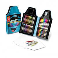 Crayola набор для детского творчества синий карандаш 50 предметов Tip Tool Kit, Turquoise 50 Art Tools