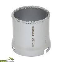 Коронка кольцевая с вольфрамовым напылением 67мм коронка кольцевая с вольфрамовым напылением 67мм