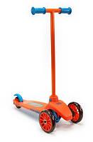 Little Tikes Самокат трехколесный оранжевый 640124 Lean To Turn Scooter Orange/ Blue