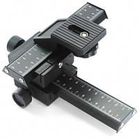 Макрофокусный рельсовый штатив для фото/видео камер