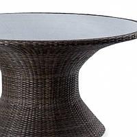 Стеклянная столешница для обеденного стола Disco (каленное стекло 6мм)