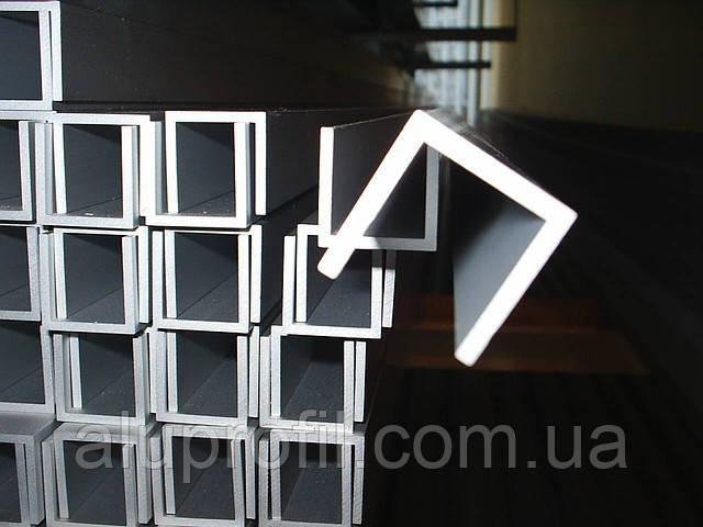 Алюминиевый профиль — швеллер размером 45х42,5х2 Б/П