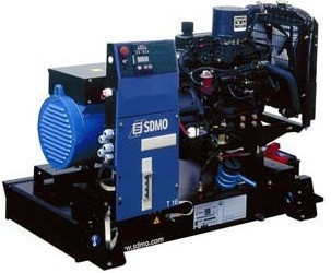 Трехфазный дизельный генератор SDMO J 220 C2 (176 кВт)