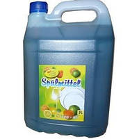 Средство для мытья посуды Spulmitel яблоко 5 L