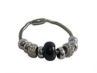 Женский браслет в стиле Пандора на магнитной застежке (тонкий)