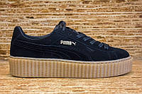 Кроссовки Puma Suede Creeper x Rihanna Black/Oatmeal