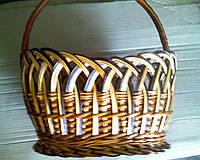 Плетеная корзина.лоза