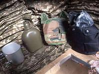 Набор фляга и котелок для военнослужащих и туризма