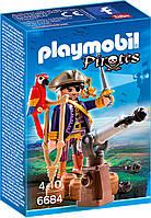 Игровой набор Капитан пиратов с пушкой, Playmobil