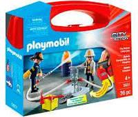 Игровой набор Пожарная бригада, в кейсе, Playmobil